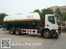 Chate by Chate Ctz5255gyu Carbon Dioxide Transport Tank Truck On Volvo Fe
