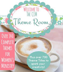 womens and ministry event themes from creative