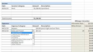 Income Tracker Spreadsheet How To Keep Track Of Rental Property Expenses