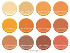 love these colors http www bhg com decorating color paint orange