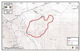 Ca Wildfire Map 2014 by Lakeside Fire District October 2011