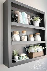 ideas for bathroom shelves 17 diy wooden bathroom shelves that you can just in one day