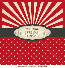 vintage design blank sunburst retro background free vector stock