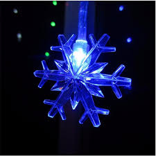 led garland christmas lights yiyang 10m 100led snow flakes string led garland lights wedding