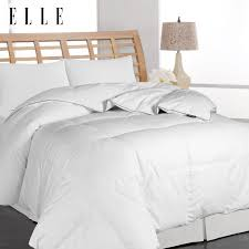 amazon black friday bedding amazon com elle microfiber pinstripe down comforter full queen