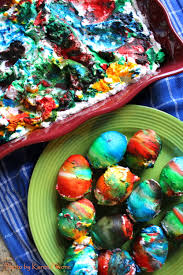 crafting with clover diy tie dye whipped cream easter eggs clover