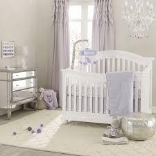 nursery beddings lavender and white baby bedding plus lavender
