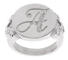 initial ring ebay