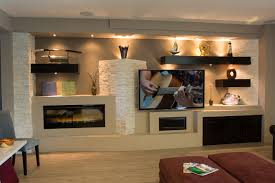 14 breathtaking gypsum board and niches for tv wall unit my