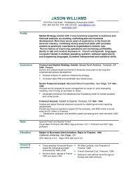 job resumes examples
