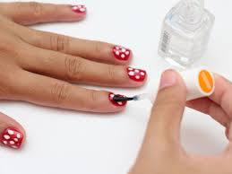 how to do polka dot nail art 5 steps with pictures wikihow