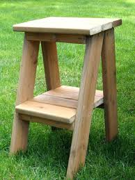 Table Image Side Table Ladder Side Table Super Easy But A Little Tricky