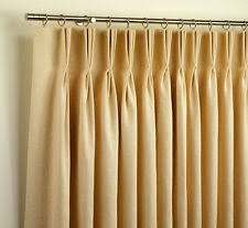 Thermal Pinch Pleated Draperies Solid Pleated Drapes Ebay