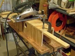 Bench Mounted Circular Saw Improve Your Wood Shop