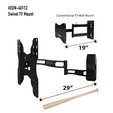 Wall Mount For 48 Inch Tv Amazon Com Aeon Stands And Mounts Full Motion Wall Mount With 29