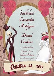 Digital Save The Date Save The Date Dia De Los Muertos Eternal Love Wedding Invitation