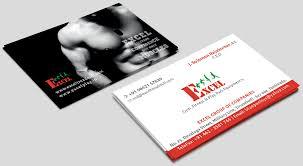 business card exle excel business card stutzen design studio