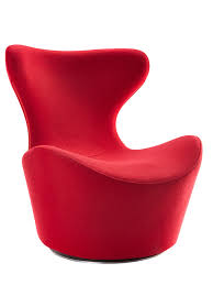 Modern Fabric Chairs Modrest Hadrian Modern Red Fabric Accent Chair Lounge Lounge
