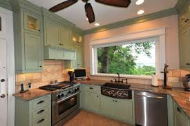 green kitchen cabinets pictures fresh gray green kitchen cabinets intended for kitch 14430