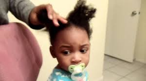 nigeria baby hairstyle for birthday simple hair styling 1 year old hair youtube