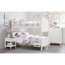 Bunk Bed White Better Homes And Gardens Lillian Wood Bunk Bed
