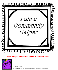 esl efl preschool teachers community helpers