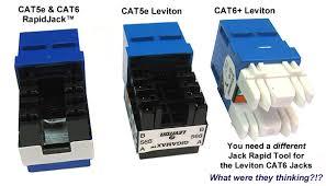 cat5e cat6 and cat3 usoc rapidjacks faceplates u0026 patch panels