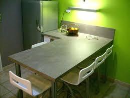 plan de travail snack cuisine plan de travail pour table de cuisine plan de travail snack cuisine