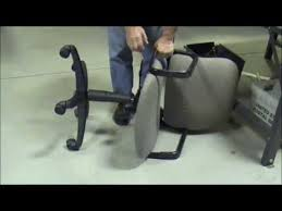Gas Cylinder For Office Chair How To Remove Gas Cylinder Using A Pipe Wrench Youtube
