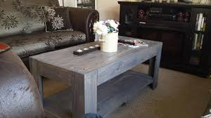 dark gray coffee table gray wood coffee table