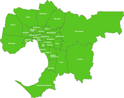 Councils Of Melbourne Map What We Do Metropolitan Waste And Resource Recovery