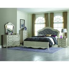 Awesome Bedroom Sets Houston Modern Upholstered Panel Bed  Drawer - Bedroom sets houston