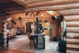 log home kitchen ideas 16 amazing log house kitchens you to see tin pig