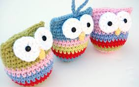 hopscotch crochet owl ornament pattern