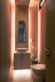 recessed lighting in small bathroom for larger effect best