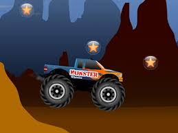 monster wheelie fun monster truck driving game