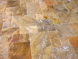 scabos travertine versailles ashlar pattern tiles unfilled