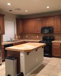 S Kitchen Makeover - kitchen makeover from dreary and dated to big bright and