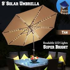 Patio Umbrellas With Led Lights by Led Patio Umbrella Lights Home Design Inspiration Ideas And