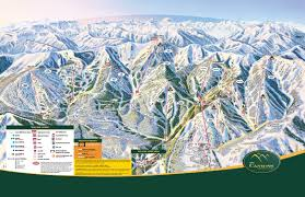 Map Of Utah Ski Resorts by The Canyons Ski Trail Map 4000 The Canyons Resort Dr Park City
