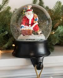 christmas holder snow globe holder balsam hill