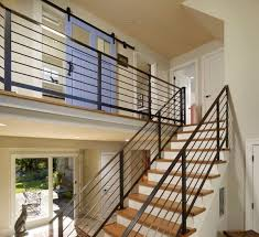 Design For Staircase Railing Choosing The Stair Railing Design Style Railing Design