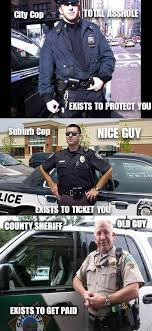 Funny Police Memes - different types of cops funny pictures funny photos funny