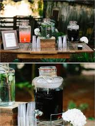Drink Table Sweet Vintage Wedding Wedding Drink Table Beverage Dispenser