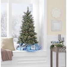 smith 4 5 pre lit slim pine tree kmart