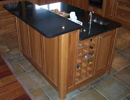 oak kitchen island units bespoke wood kitchen custom made cherry wood kitchen