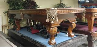 pre owned pool tables u0026 game room furniture all about lamps ideas
