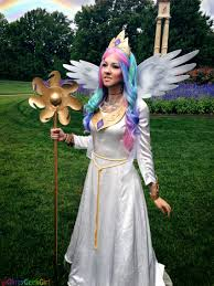 tutorial princess celestia cosplay glitzy geek princess