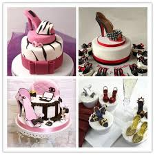 3d stiletto high heel shoe set 6 pce u2013 deco cake land