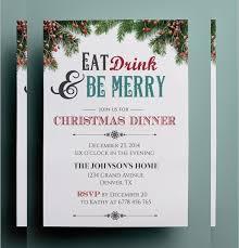 templates for xmas invitations christmas dinner invitation template free invitation template